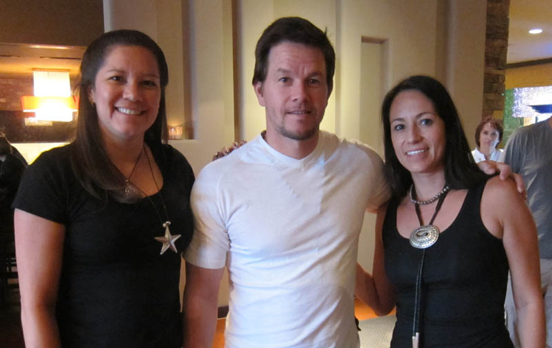The Booth Babes with Mark Wahlberg, 2012