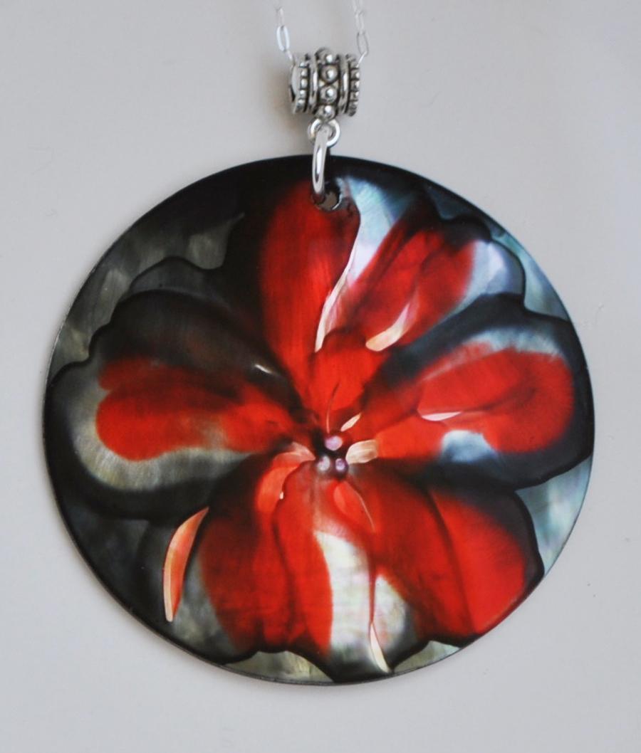 Island Flower Pendant