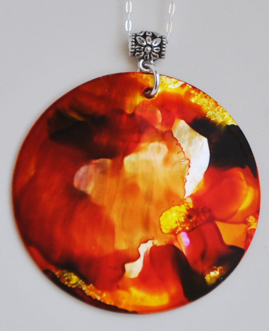 Kilauea Caldera Pendant