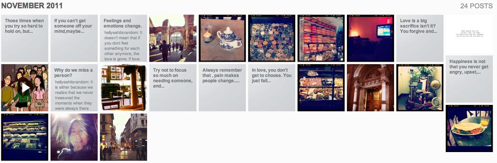 Tumblr Archive NOV 2011