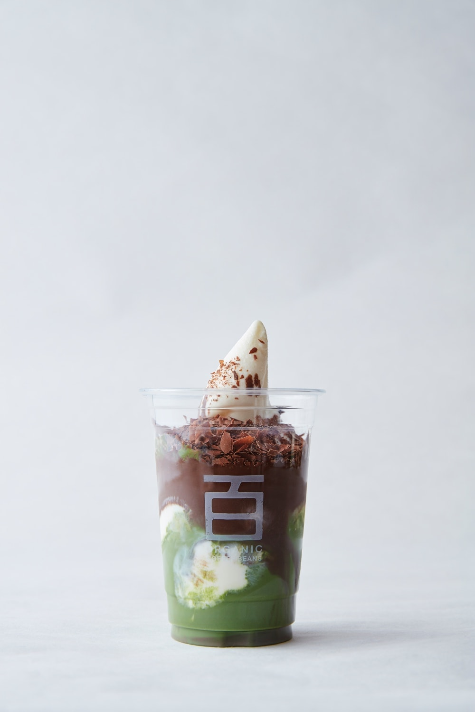 baekmidang matcha chocolate ice cream