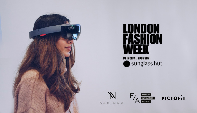 Pictofit at London Fashion Week 2017 —Photo: Emmi Hyyppä