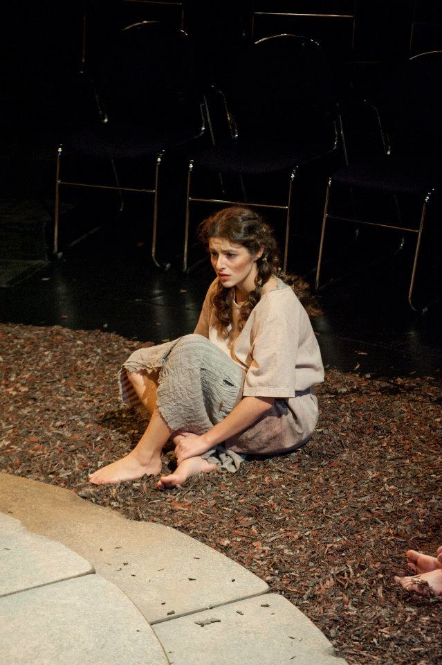 """Oedipus and Antigone""  (Tufts University Main Stage, Boston) Directed by Downing Cless  Antigone (Melis Aker)"