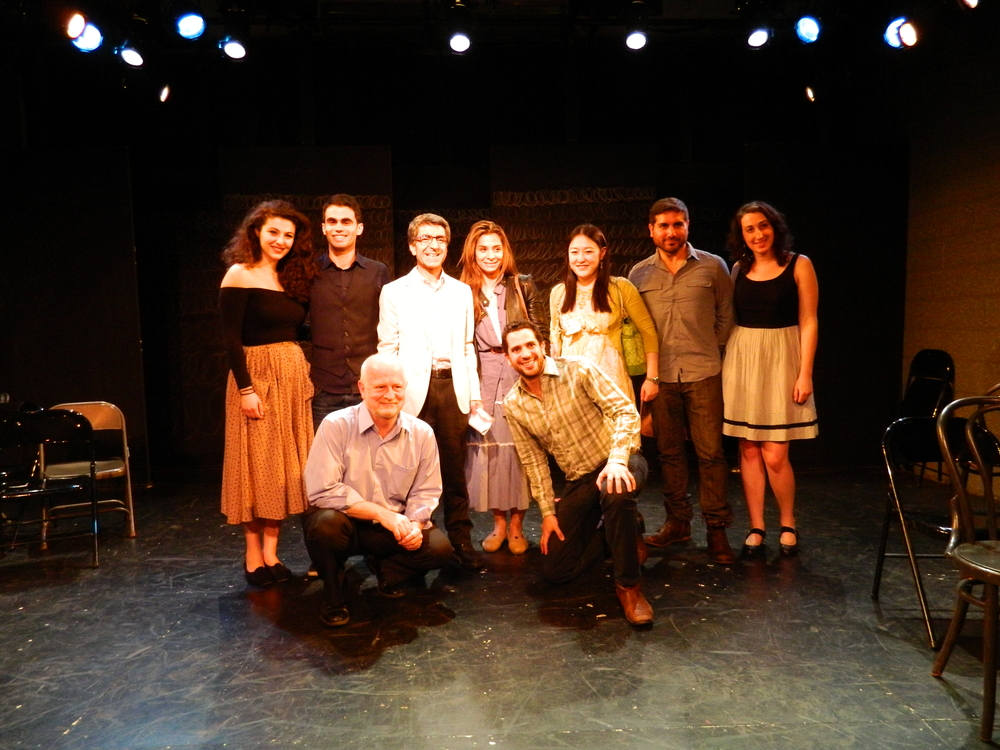 """Threshold""  (Phoenix Theatre Ensemble, at The Wild Project) Directed by Kareem Fahmy 