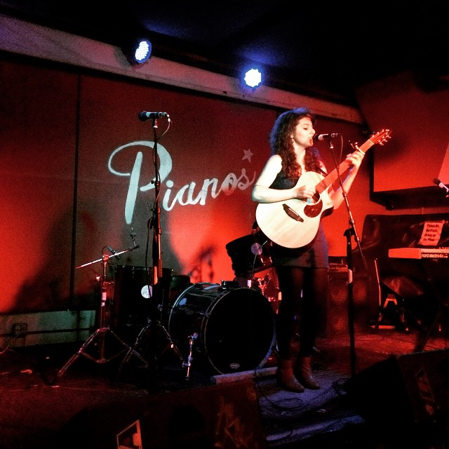 Melis Aker live at Pianos, New York.