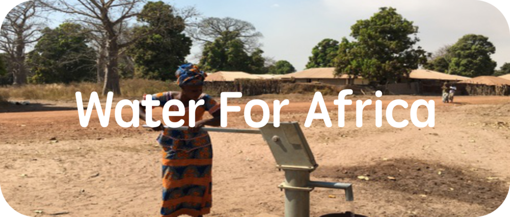 Water for Africa is why we get up in the morning.
