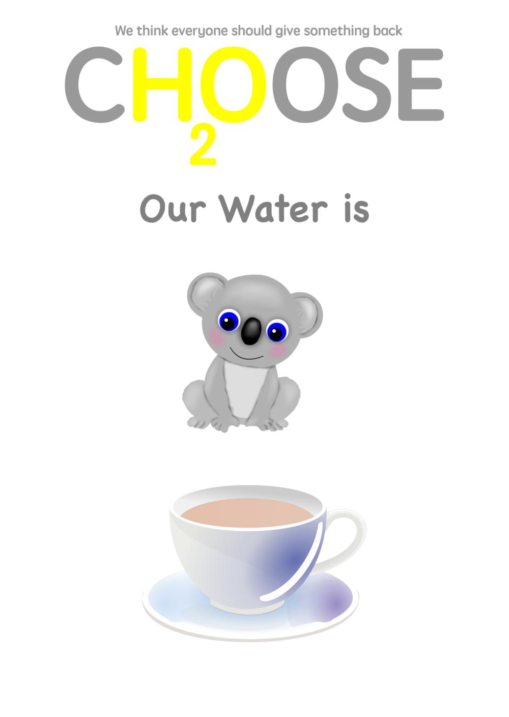 choose water, ch2oose