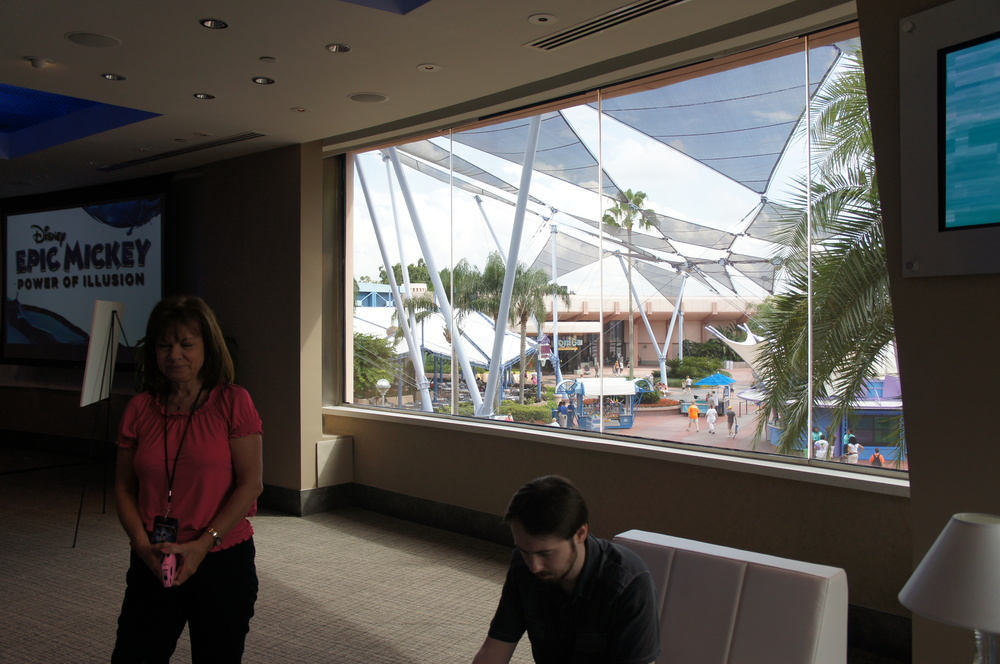 The view of Innoventions Plaza.  Photo: http://www.disneyeveryday.com/