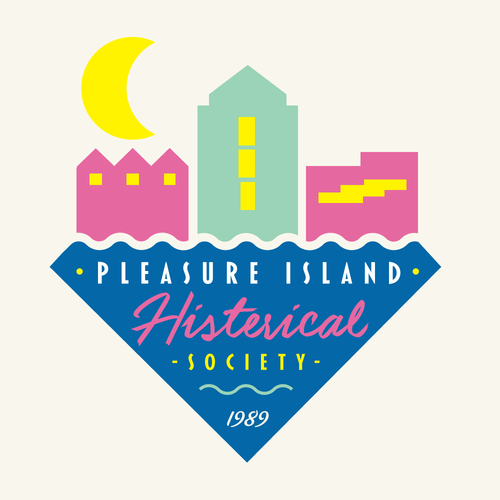 PLEASURE ISLAND HISTORICAL PLAQUES