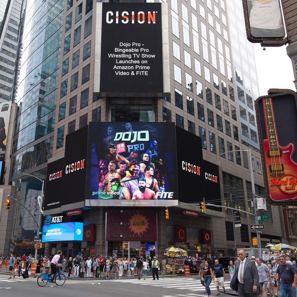 Digital Billboard in Times Square