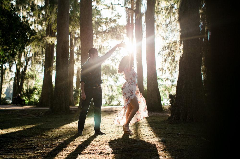 dancing twirl at kraft azalea gardens