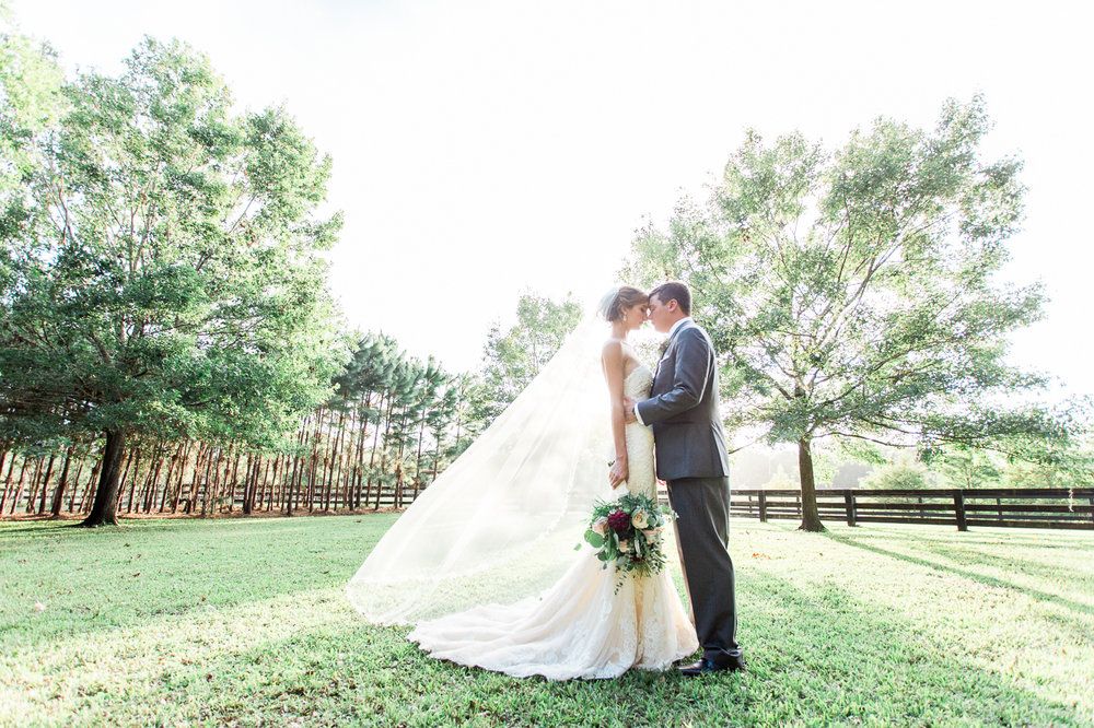 Club Lake Plantation wedding