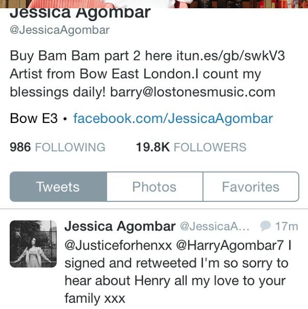 Jessica Agombar, Musician