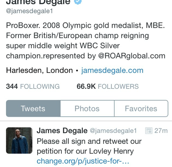 James Degale, Champion Boxer