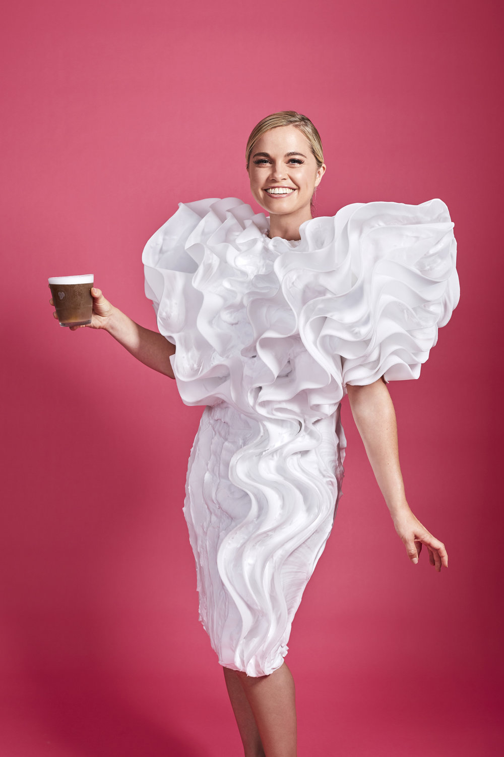 COSTA COFFEE Whipped Milk Campaign with Kate Tabor
