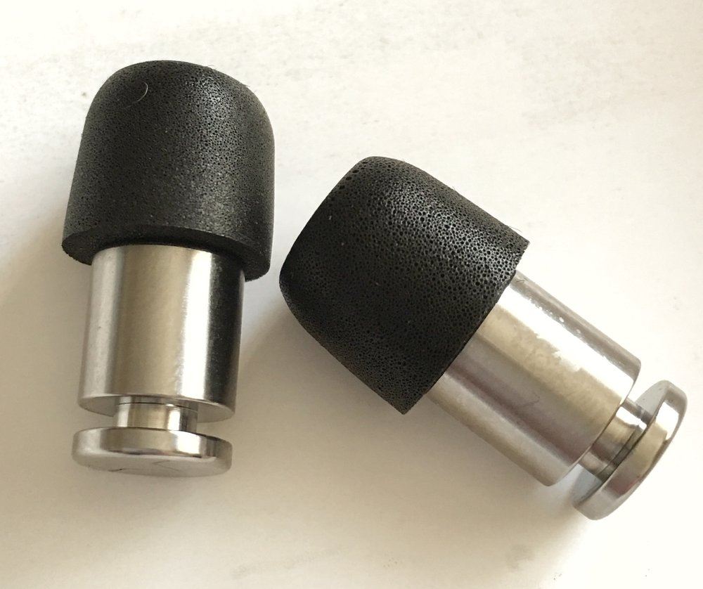 Flare Isolate Titanium plugs
