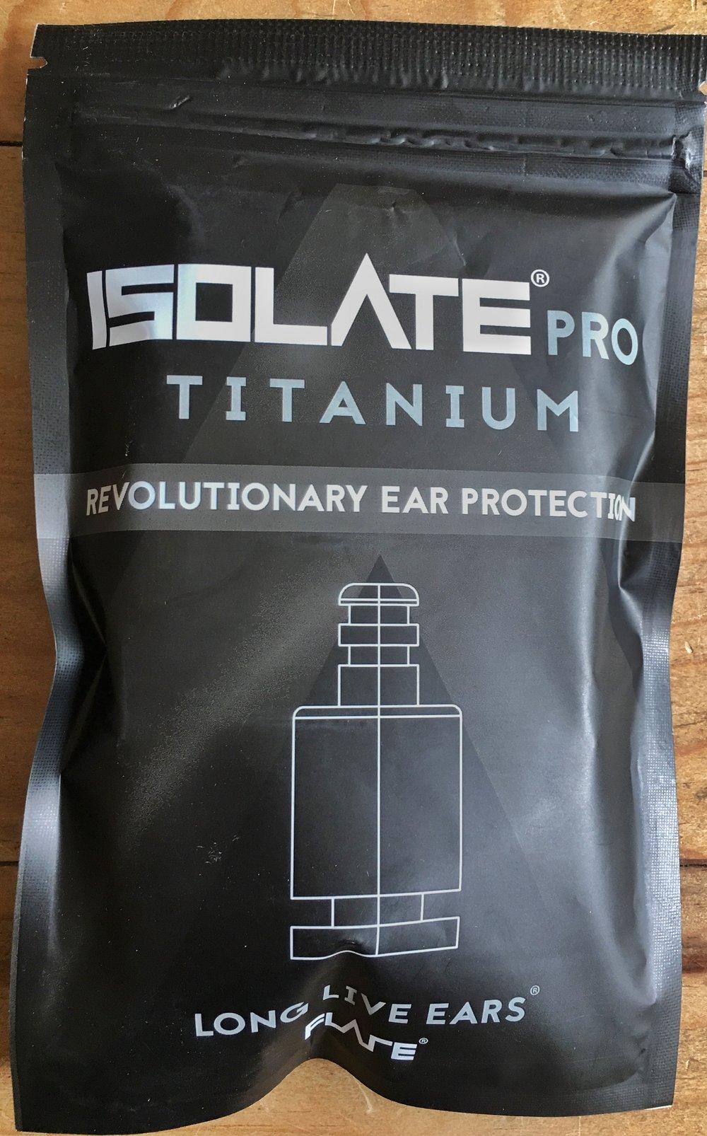 Flare Isolate Titanium packet
