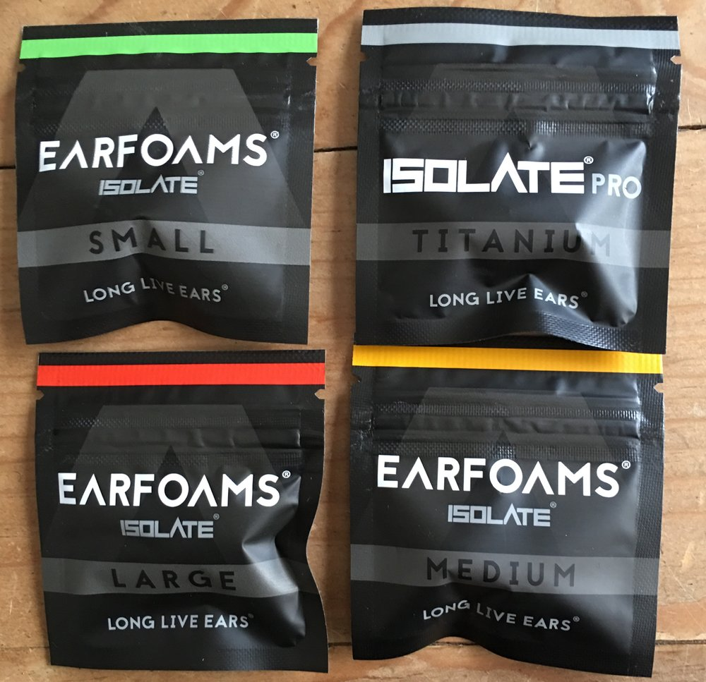 Flare Isolate foam packs