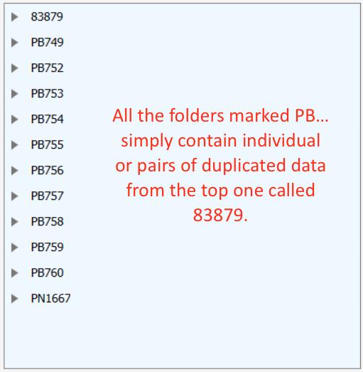 Duplicate folders