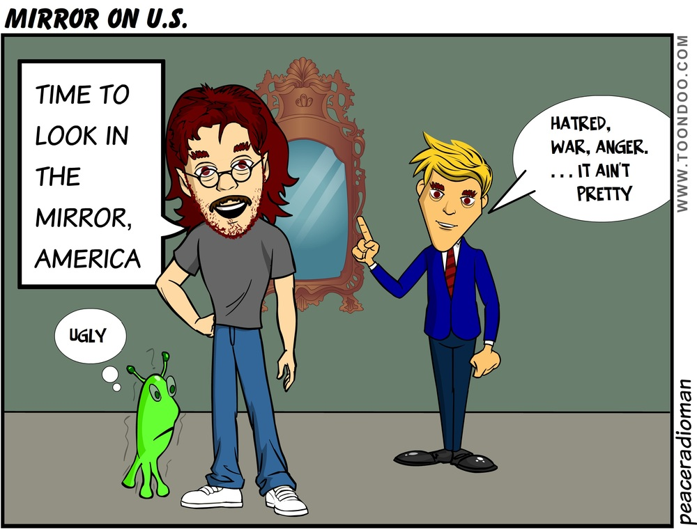 A MIRROR ON AMERICA CAN BE VERY REVEALING....