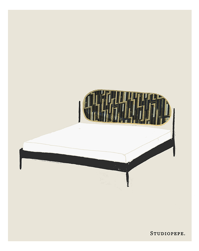 Products Talos bed u2014 Studiopepe