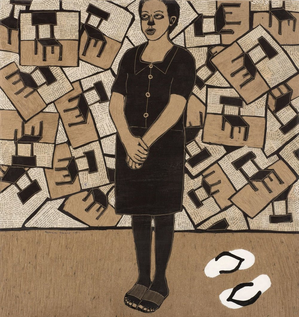 Ephrem Solomon,  Dignity of the Lady , 2013, Kristin Hjellegjerdge Gallery.