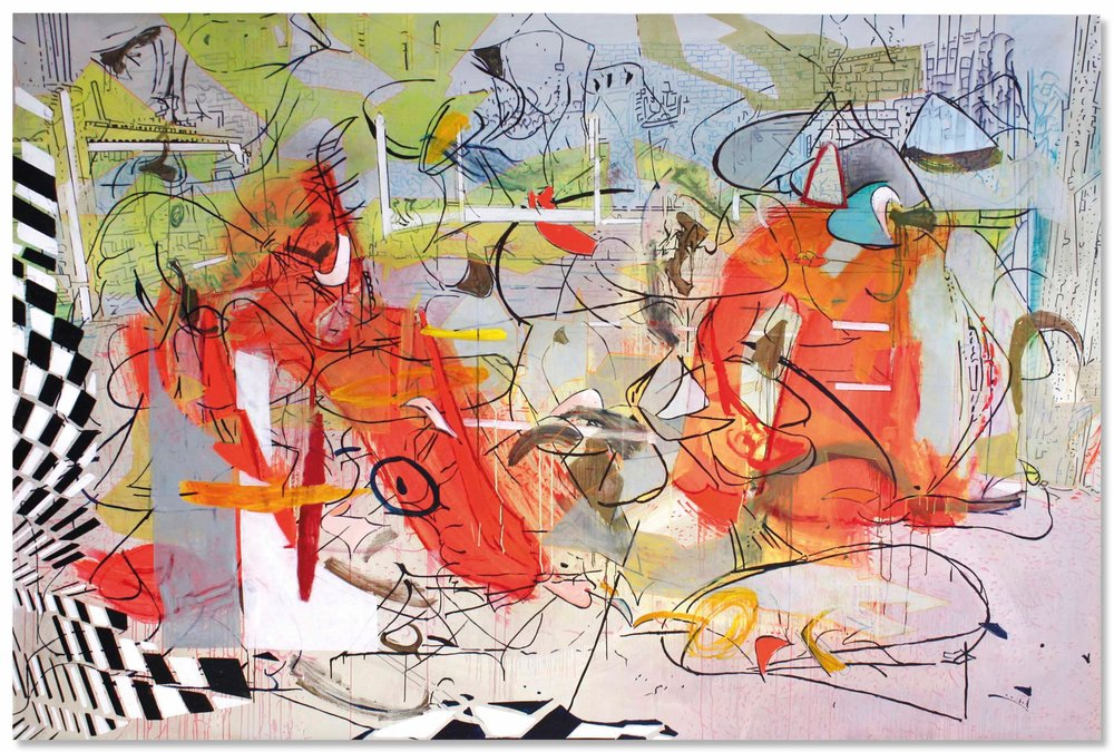 Alejandro Ospina, Red Lucky 7, 2014, courtesy of the artist.
