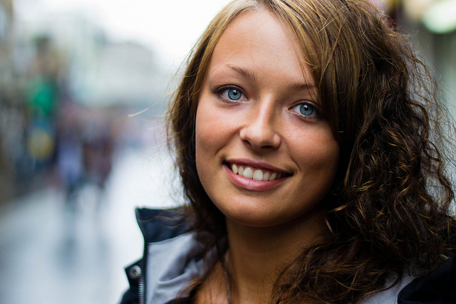 Stranger 23 - Frida (shot with Nikon D3100 and 50mm 1.8 shot at 1.8 to create the blurred background)