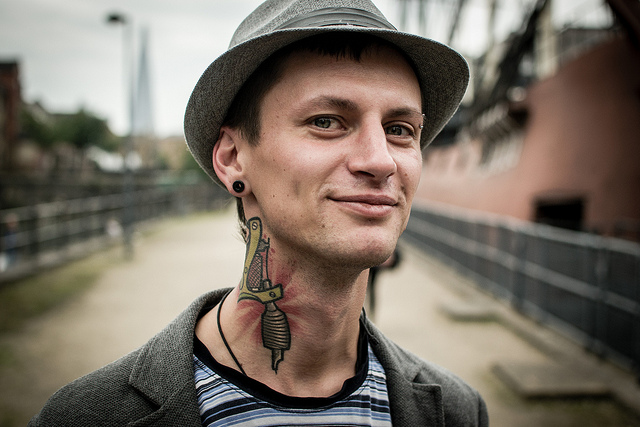Stranger 39 - Eduard (shot near a tattoo convention)