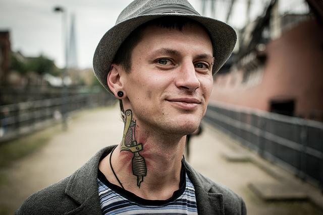 Stranger 39 - Eduard (shot near a tattoo convention)