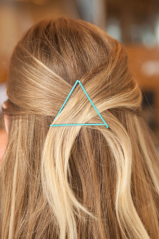 Bobby Pin Triangle