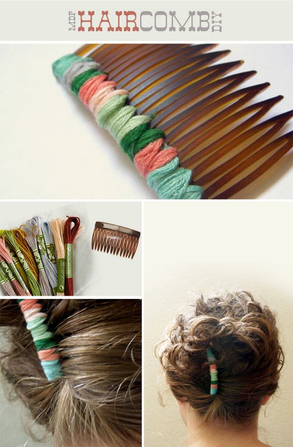 Threaded Hair Comb