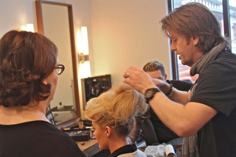 Timothy Pamment, Co-Owner and Creative Director of the Timothy Pamment Salon, enjoys working hand in hand with his staff on community fundraisers such as the Oscars in Madison and the Madison Chamber of Commerce Annual Fashion Affair.