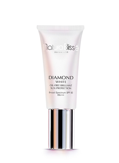 Diamond White Oil Free SPF 50 (with a tint!)