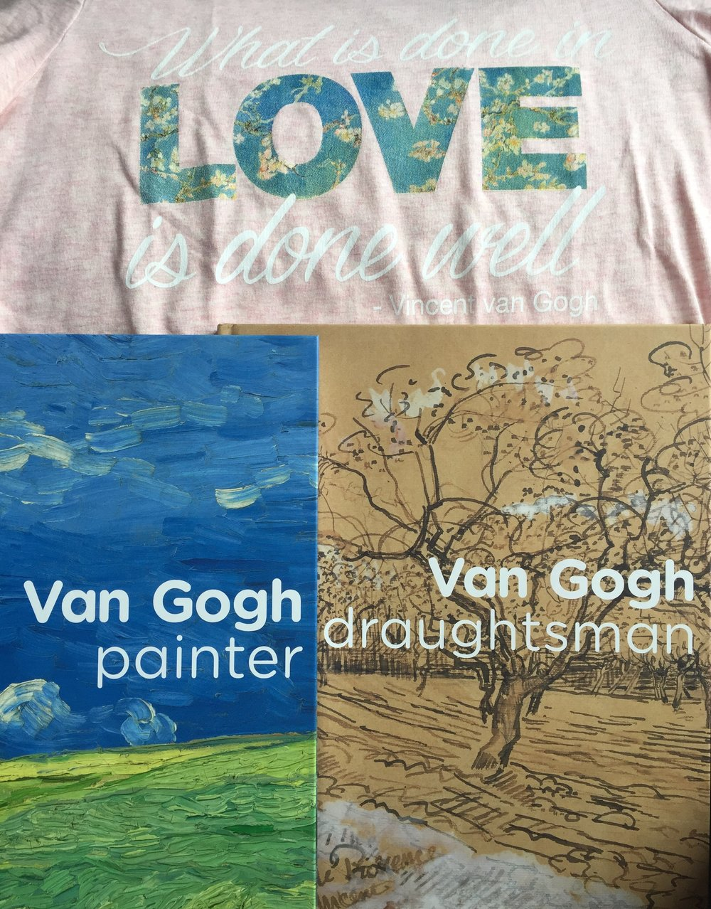 My purchases from the Van Gogh Museum.