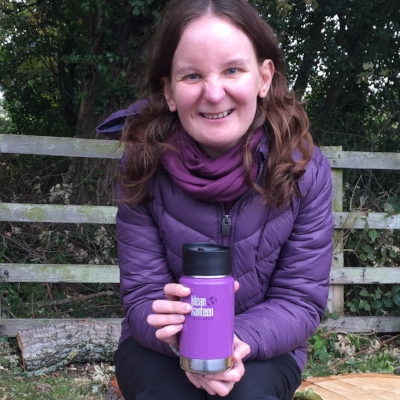 Celebrating International Coffee Day with my Klean Kanteen!