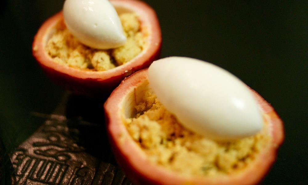 Passionsfrucht.Joghurt.Kambucha