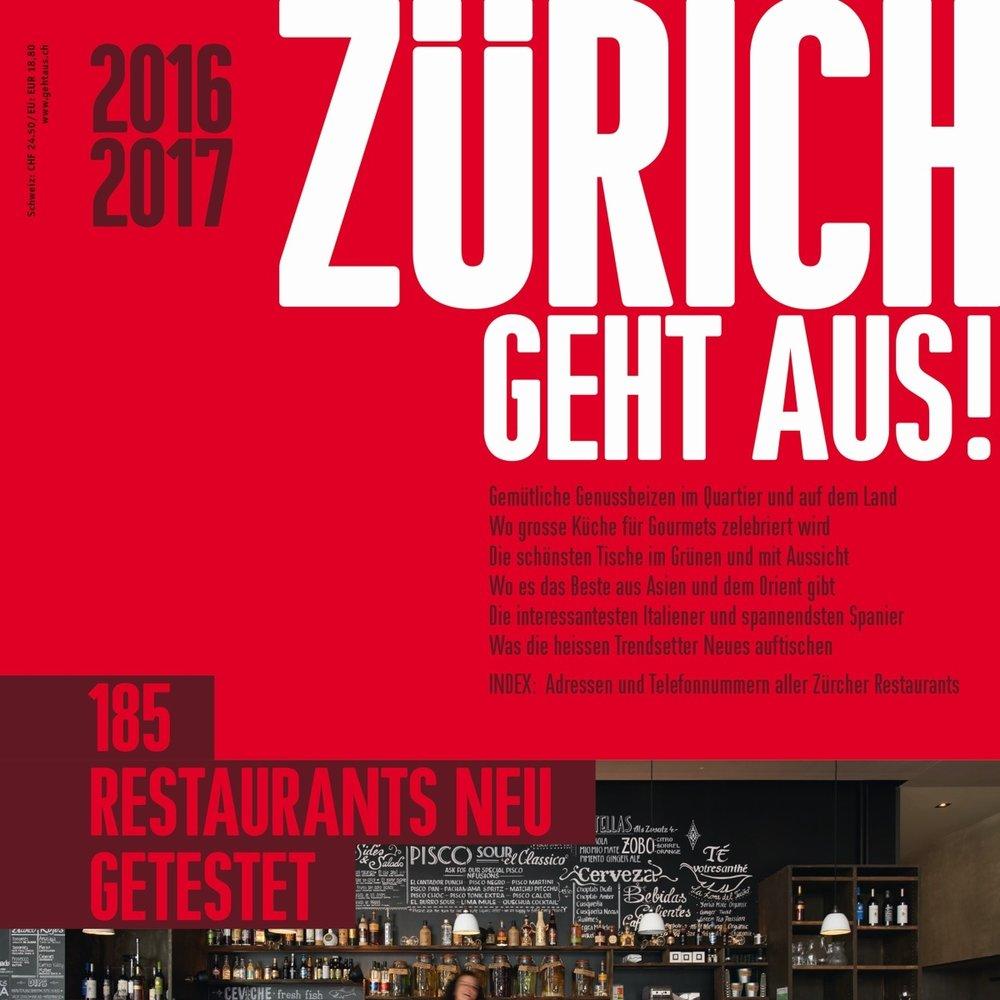 9.April 2016, Zürich geht Aus    ZÜRICH GEHT AUS 2016/2017