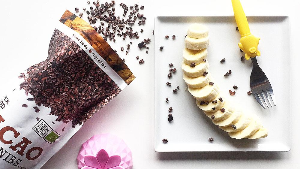 przekąska bananowa z kakao purasana