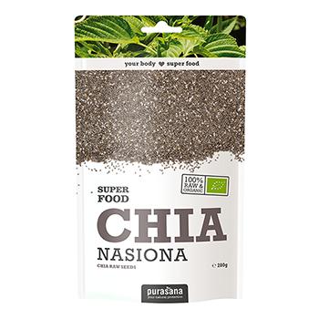 NASIONA CHIA: Chia (Salvia Hispanica) jest ziołem bujnie rosnącym w Ameryce Południowej. Jego nasiona od wieków uznawane są jako wartościowy składnik odżywczy. WIĘCEJ INFORMACJI >>