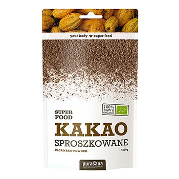 KAKAO SPROSZKOWANE: Kakao jest bogate w makro i mikro składniki odżywcze co czyni je bardzo wartościowym uzupełnieniem zdrowej diety i stylu życia. WIĘCEJ INFORMACJI >>