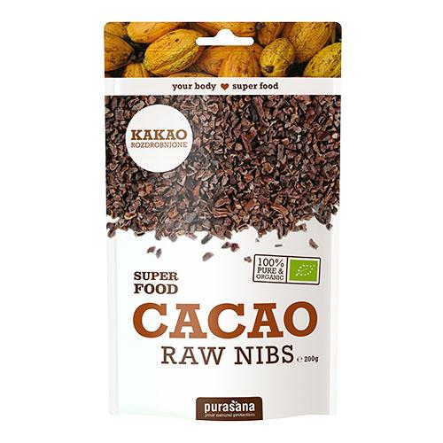 nasiona kakaowca rozdrobnione