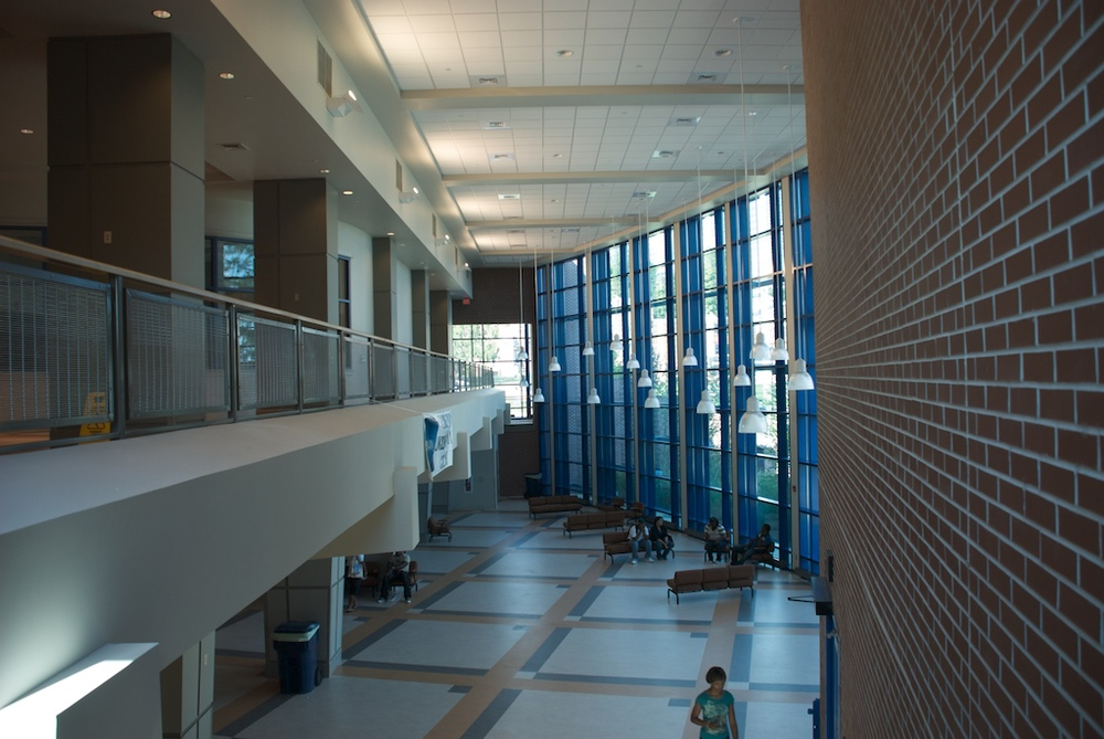 LINCOLN UNIVERSITY | STUDENT UNION INTERIOR
