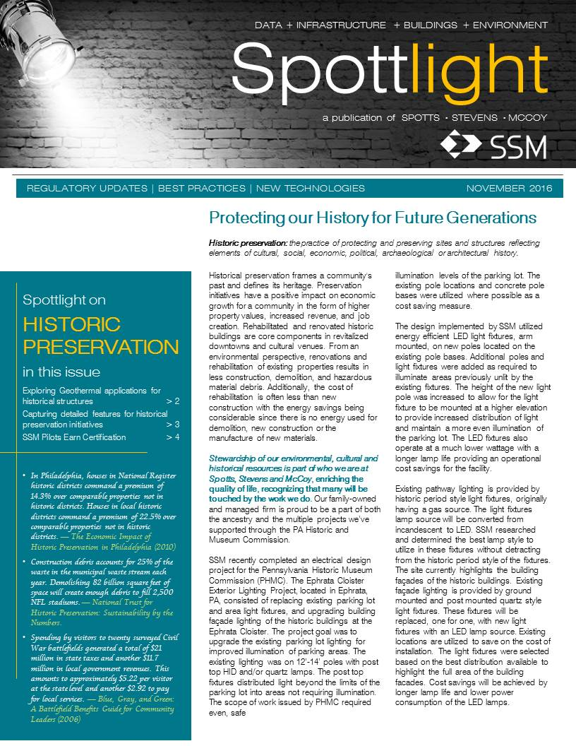 Spottlight on Historic Preservation