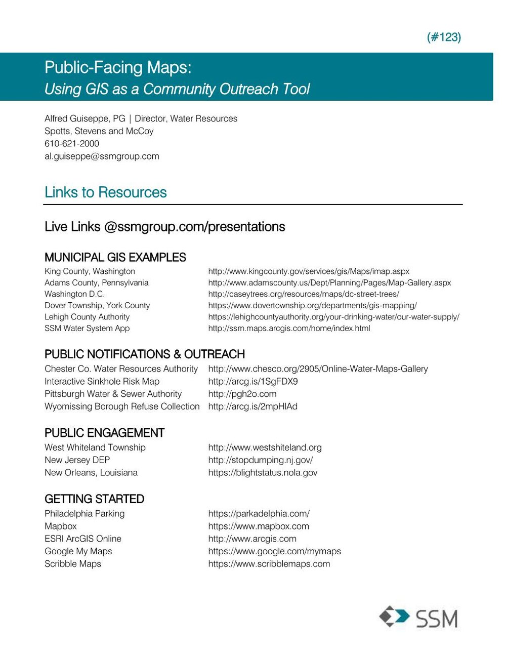 PublicFacing Maps Using GIS As A Community Outreach Tool - Washington dc gis map