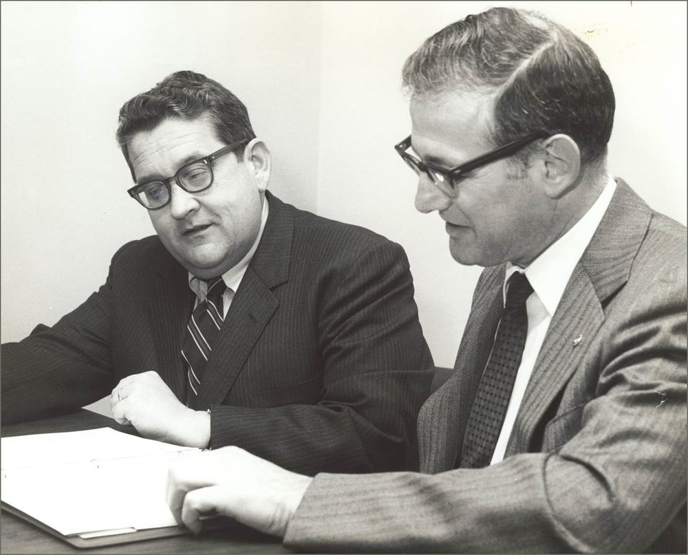 Lou McCoy and Charlie Stevens