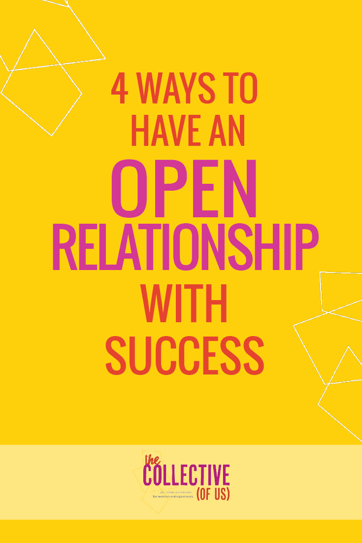 Four ways to have an open relationship with success and end professional jealously for good. Advice for creative entrepreneurs.