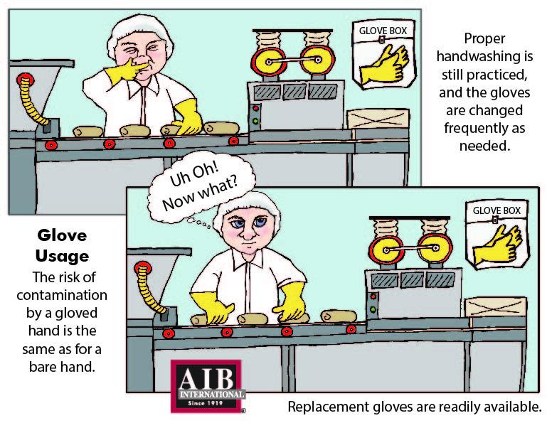 Glove Usage