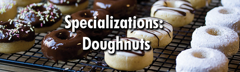 Together let's elevate your doughnuts in this specialized seminar. Join us! Specializations: Doughnuts, March 20-23, 2017, Manhattan, Kansas.