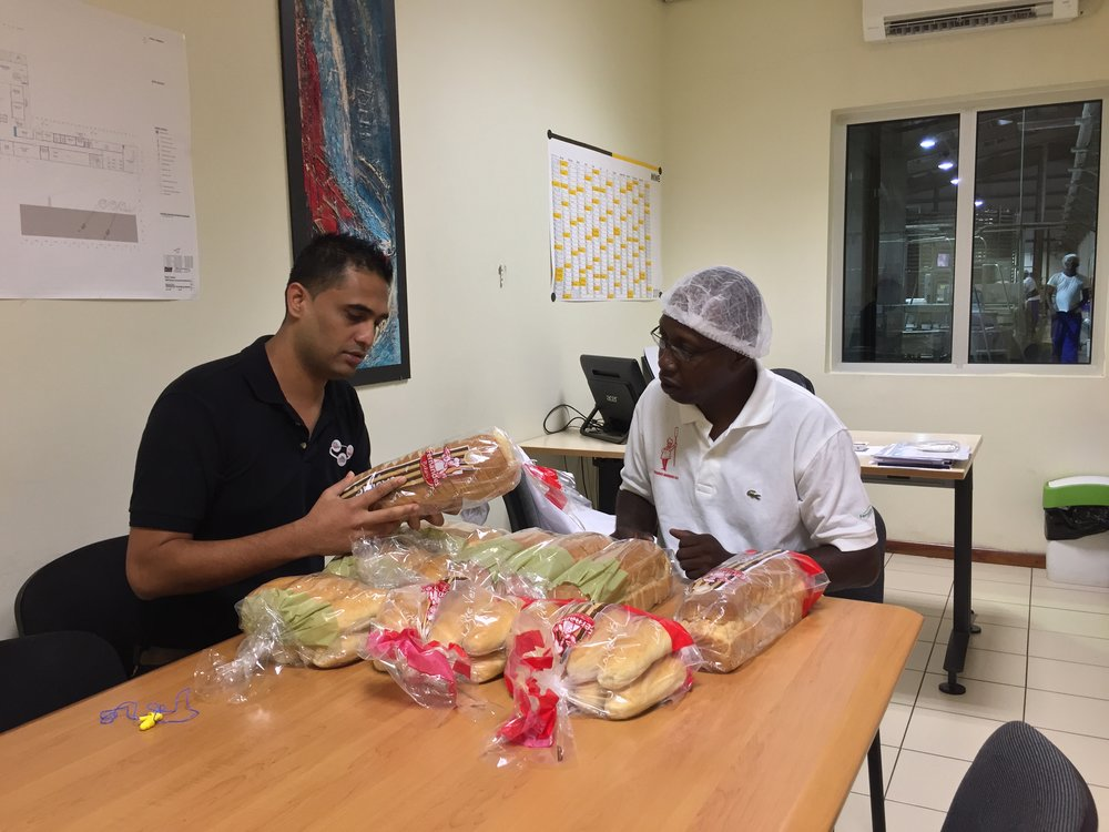 Fernandes Bakery, the largest bakery products wholesaler in Suriname, produces and distributes a wide range of breads, pastries, and snacks throughout the country. Fernandes Bakery is part of the Fernandes Group, a family-owned holding firm, founded in 1910.
